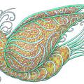 Exotic Bird IIi by Lise Winne