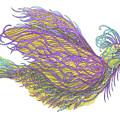 Exotic Bird Iv by Lise Winne