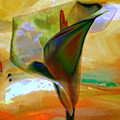 Exotic Calla Lilly by  Fli Art