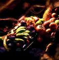 Exotic Fruit Platter by Peter Hogg