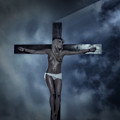 Experimental Crucifix In The Light by Ramon Martinez