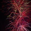 Exploding Festive Fireworks by Garry Gay