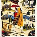 Explore London With A London Transport Explorer Pass - London Underground - Retro Travel Poster by Studio Grafiikka