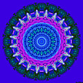 Expression No. 8 Mandala 3d by Joy McKenzie