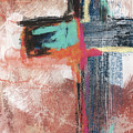 Expressionist Cross 5- Art By Linda Woods by Linda Woods