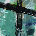 Expressionist Cross 8- Art By Linda Woods by Linda Woods