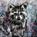 Expressive Raccoon by Jai Johnson