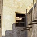 Exterior Of Isa Bin Ali House, Bahrain. by John Grummitt