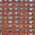 External Facade With Many Windows All Identical. by Antonio Gravante