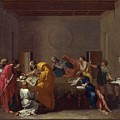 Extreme Unction Nicolas Poussin by Eloisa Mannion