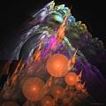 Exuberant - Abstract Art by Sipo Liimatainen