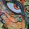 Eye In Orange by Stewart Knight