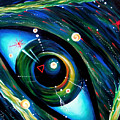 Eye Of Immortal Eternity. Timeless Space 2 by Sofia Metal Queen