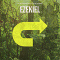 Ezekiel Books Of The Bible Series Old Testament Minimal Poster Art Number 26 by Design Turnpike