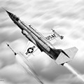 F-104a Starfighter by Douglas Castleman