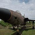 F - 105 Thunderchief by David Bearden