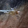 F 18 Hornet by Angel Ciesniarska