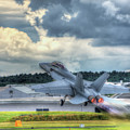 F-18 Hornet Takeoff by Nigel Bangert