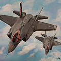 F-35's On Assignment  by Bill Dunkley
