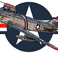 F-86 Sabre by Richard Filteau