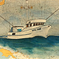 F/v Royal Dawn Tuna Fishing Boat by Cathy Peek