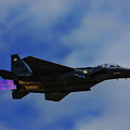 F15 Eagle In Afterburner by Tommy Anderson