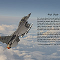 F16 - High Flight by Pat Speirs