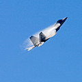 F22 Full Power Climb by Dave Clark