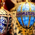 Faberge Holiday Eggs by Carol Montoya