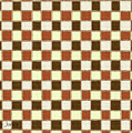 Fabric Design Mushroom Checkerboard Abstract #2 by Tom Janca