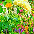 Fabulous Florals 333 by Greg Hammond