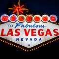 Fabulous Las Vegas Sign by Steve Gadomski