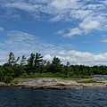 Fabulous Northern Summer - Georgian Bay Island Landscape by Georgia Mizuleva