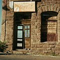 Facade American Pool Hall Coca-cola Sign Ghost Town Jerome Arizona 1968 by David Lee Guss