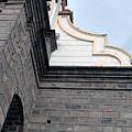 Facade Of La Matriz Church by Robert Hamm
