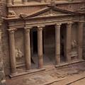 Facade Of The Treasury In Petra, Jordan by Richard Nowitz