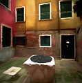 Facade Of Venice V1  by Michelle Saraswati