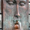Face Fountain - Riviera Maya Mexico by Frank Mari