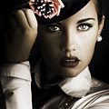 Face Of Dark Fashion by Jorgo Photography - Wall Art Gallery