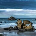 Face Rock Beach  by Manuela Durson