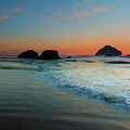 Face Rock Sundown by Mike Dawson