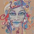 Faces 16 by Christina Naman