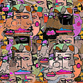 Faces by Joyce Goldin