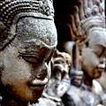 Faces Of Angkor by Natalia Smieszek-Suszyna