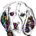 Faces Of Life 37 Beagle by Dalon Ryan