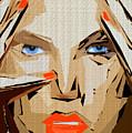 Facial Expressions Xix by Rafael Salazar