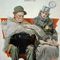Fact And Fiction by Norman Rockwell