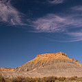 Factory Butte Utah by Cindy Murphy - NightVisions