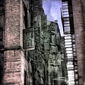Factory Doors - Dumbo by Dave Beckerman