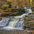 Factory Falls - Childs State Park by Allen Beatty